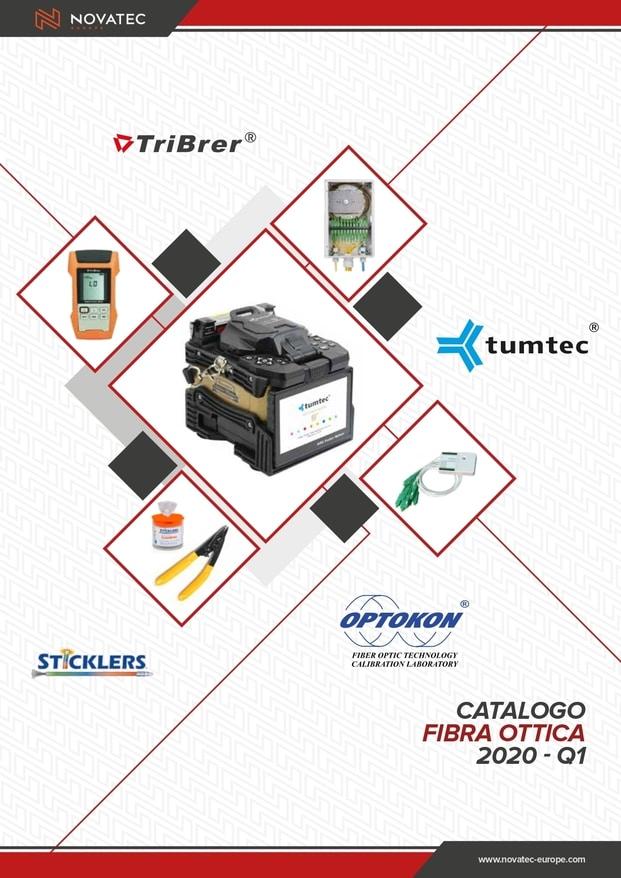 Fibra ottica strumenti e accessori - Catalogo Rosso