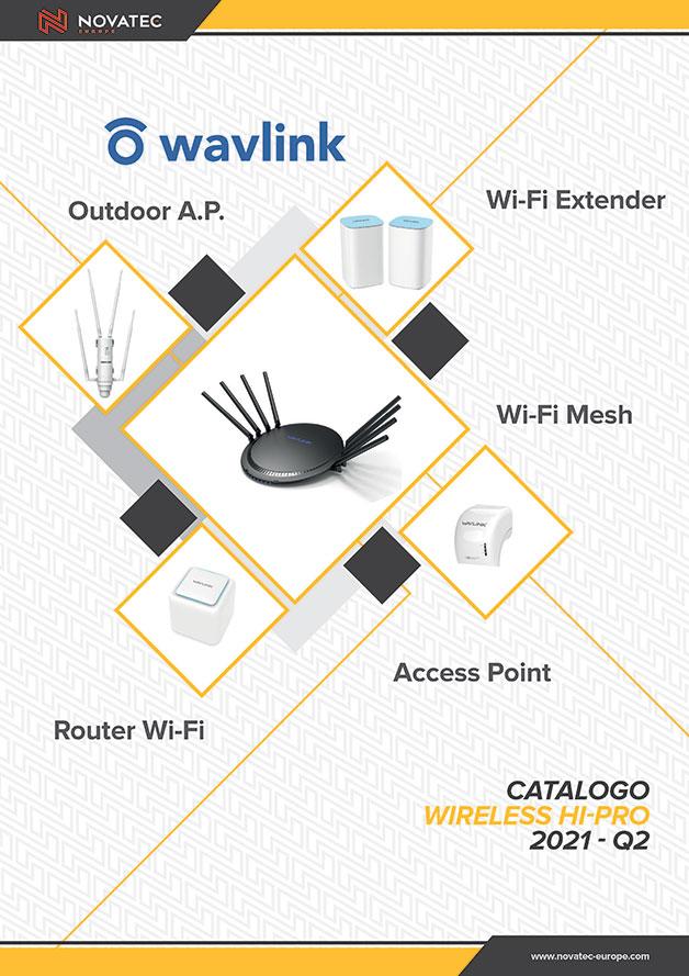 Wireless Hi Pro 2021 Q2 - Catalogo Giallo - Novatec Europe