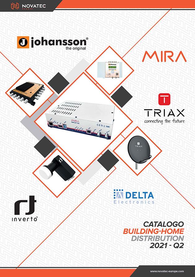 Building Home Distribution - Catalogo Arancio - Novatec Europe