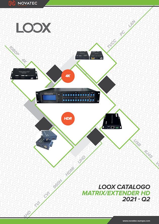 Matrix Extender HD - Catalogo Verde - Novatec Europe