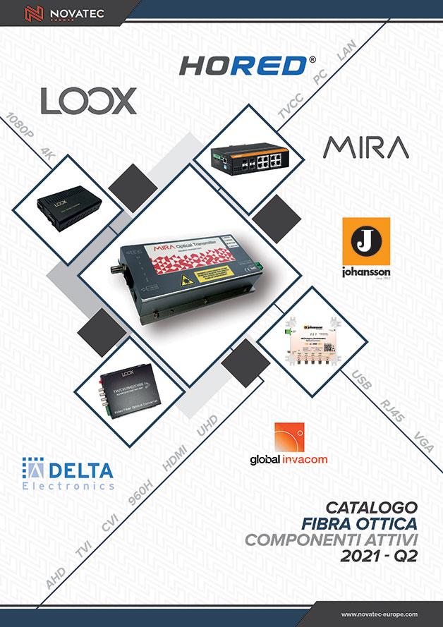 Fibra ottica Componenti attivi - Catalogo Blu - Novatec Europe