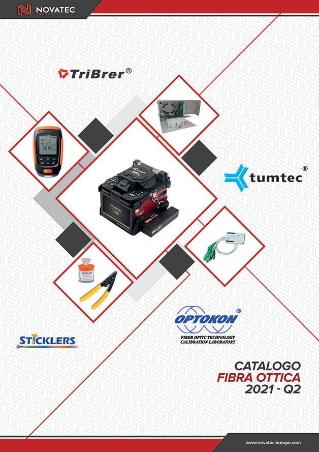 Fibra ottica strumenti e accessori - Catalogo Rosso - Novatec Europe